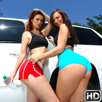 Kimmy granger & mick blue in bikes and buttplugs